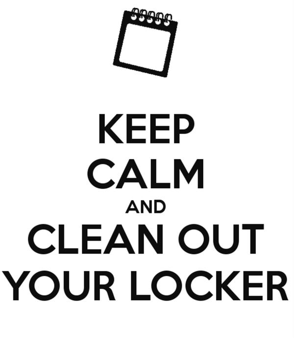 Locker Clean Out and Book Return Sign-Up