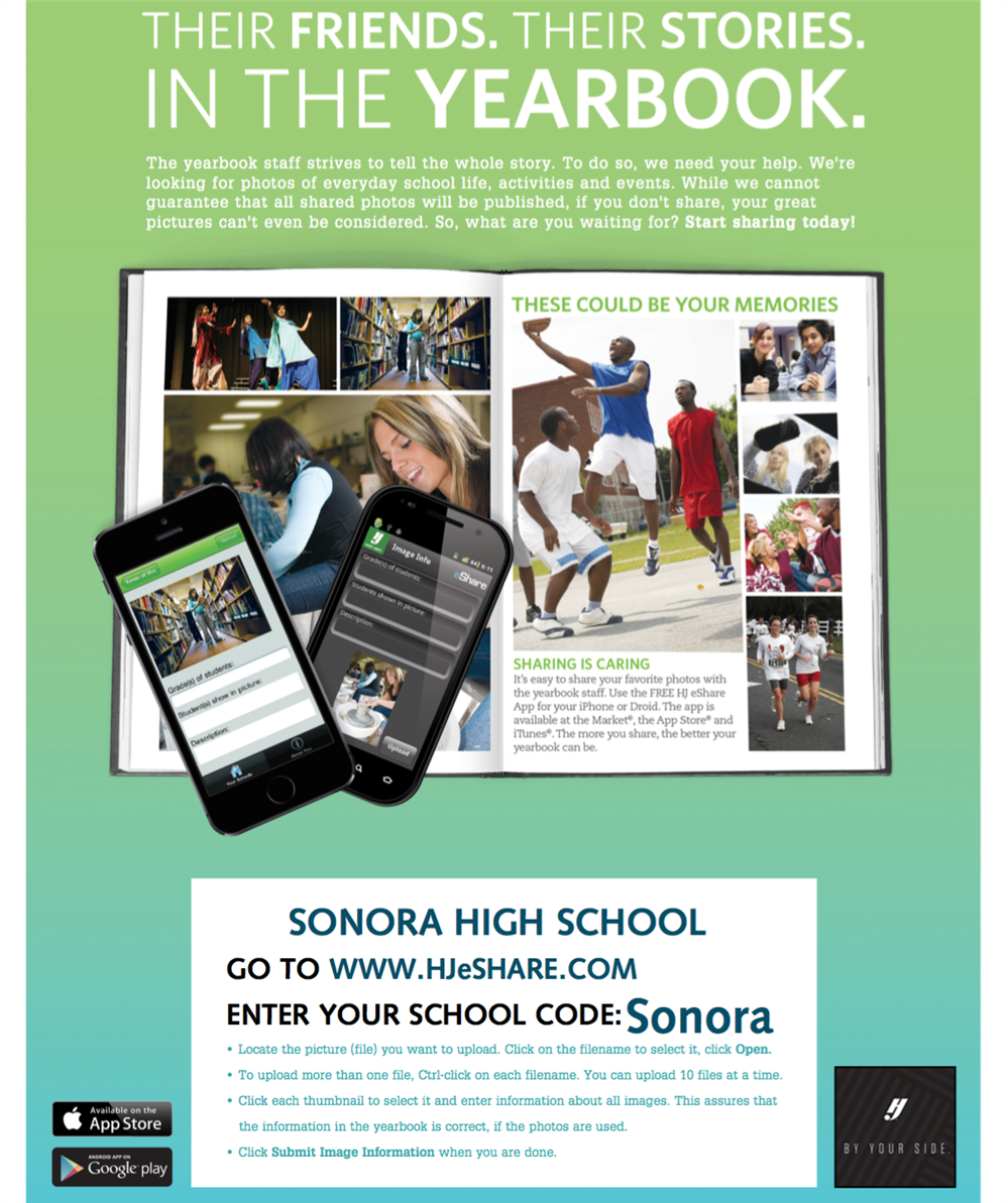 Be Featured in the Yearbook by Uploading Your Photos to Yearbook