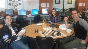 Chess Club Students