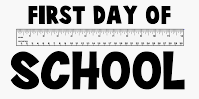 1st Day of School - Tuesday, August 11, 2020