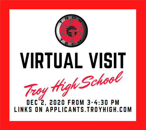 Virtual Visit December 2, 2020 from 3-4:30pm