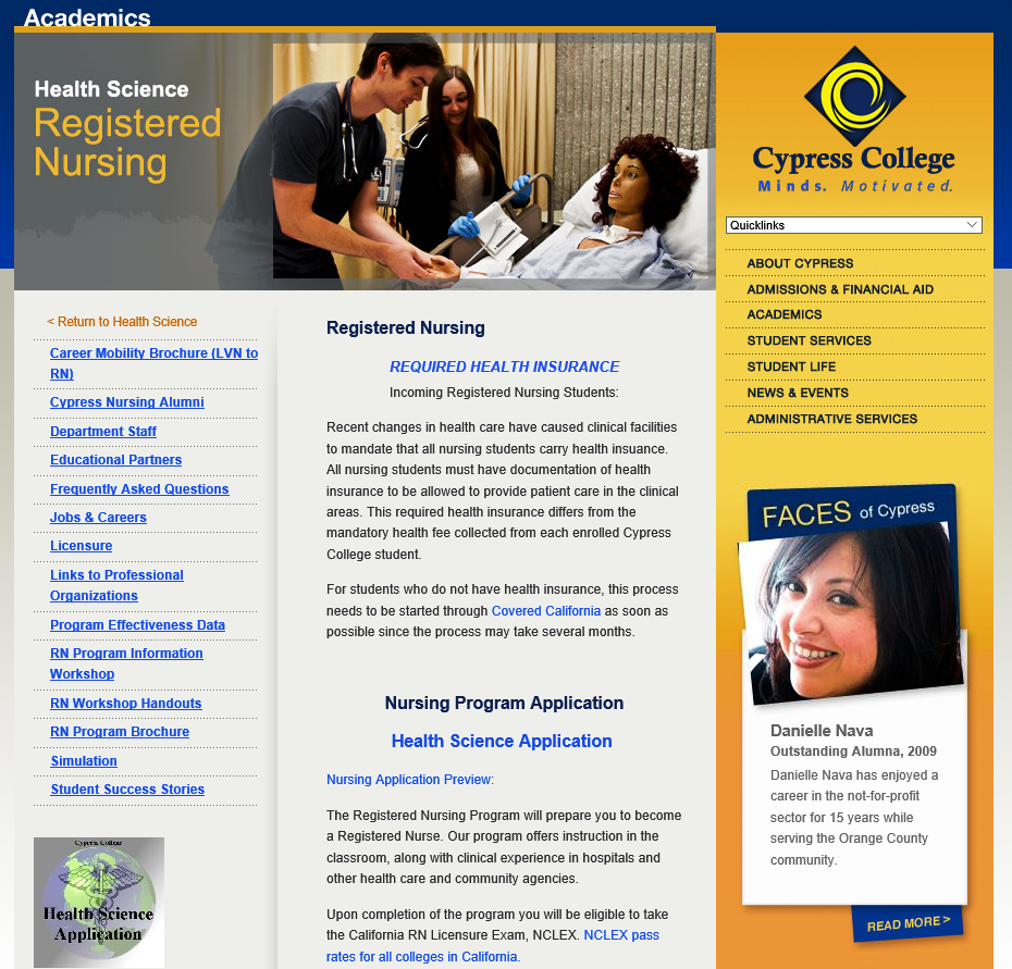 Cypress College Nursing