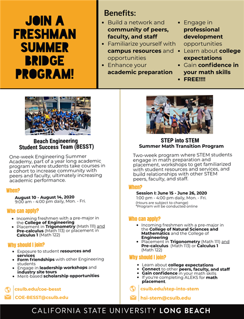 Counseling Summer Enrichment Programs