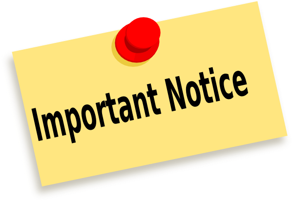 Annual Notices for Parents and Guardians