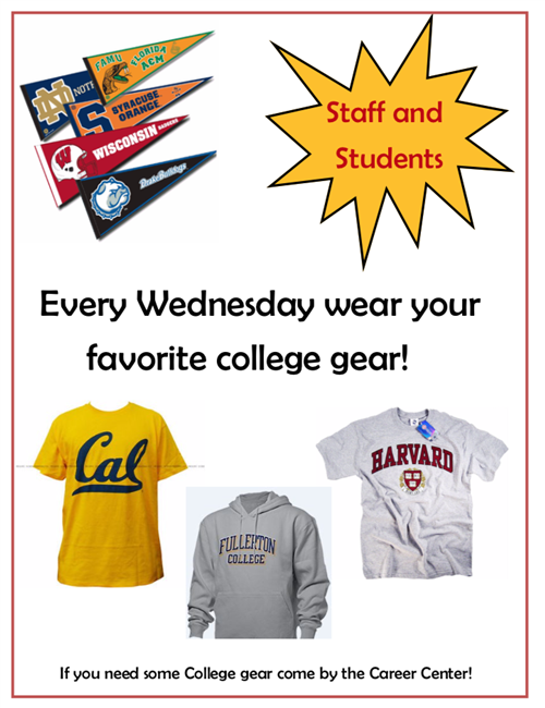 College Gear Wednesdays