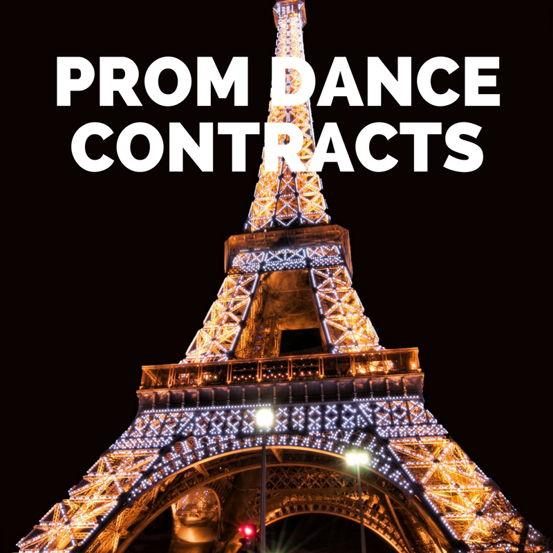 Prom 2018 Contract