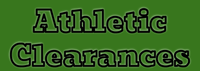 Athletic Clearance Information