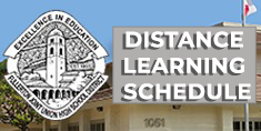 Updates on Distance Learning Schedule