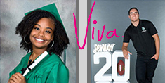 Senior Graduation Portrait - Viva Photo Studio